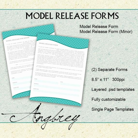 Model Release form Template Beautiful Model Release forms for Graphers Model Release for
