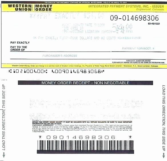 Money order Receipt Template Awesome Western Union Receipts Fake Money order Receipt Receipt