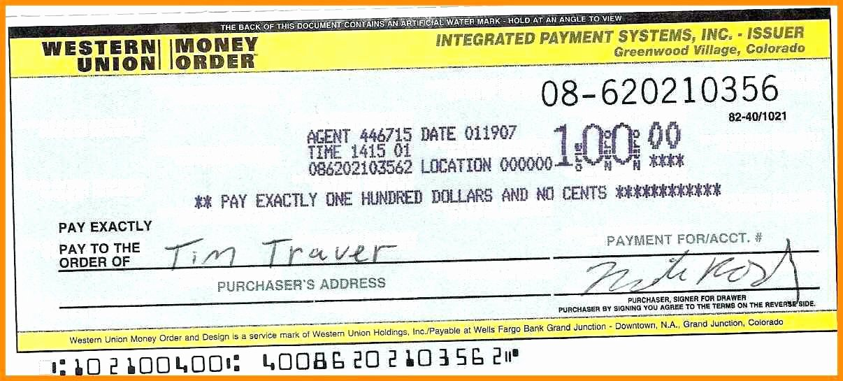 Money order Receipt Template Lovely Blank Money order Template Flexible See Addition Western
