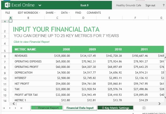 Monthly Financial Report Template Inspirational Annual Financial Report Template for Excel Line