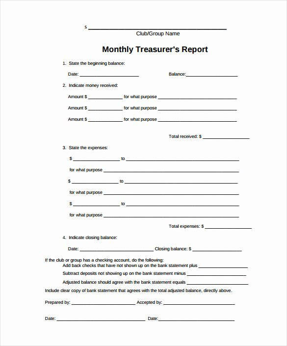 Monthly Financial Report Template Inspirational Monthly Financial Report Template Excel 21 Monthly Sales