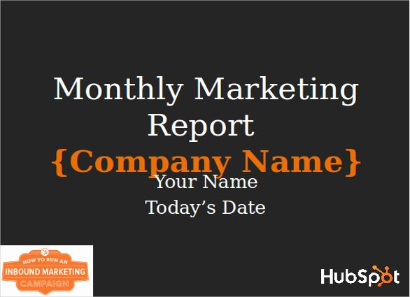 Monthly Marketing Report Template Awesome 22 Marketing Report Templates Word Pdf Pages Docs