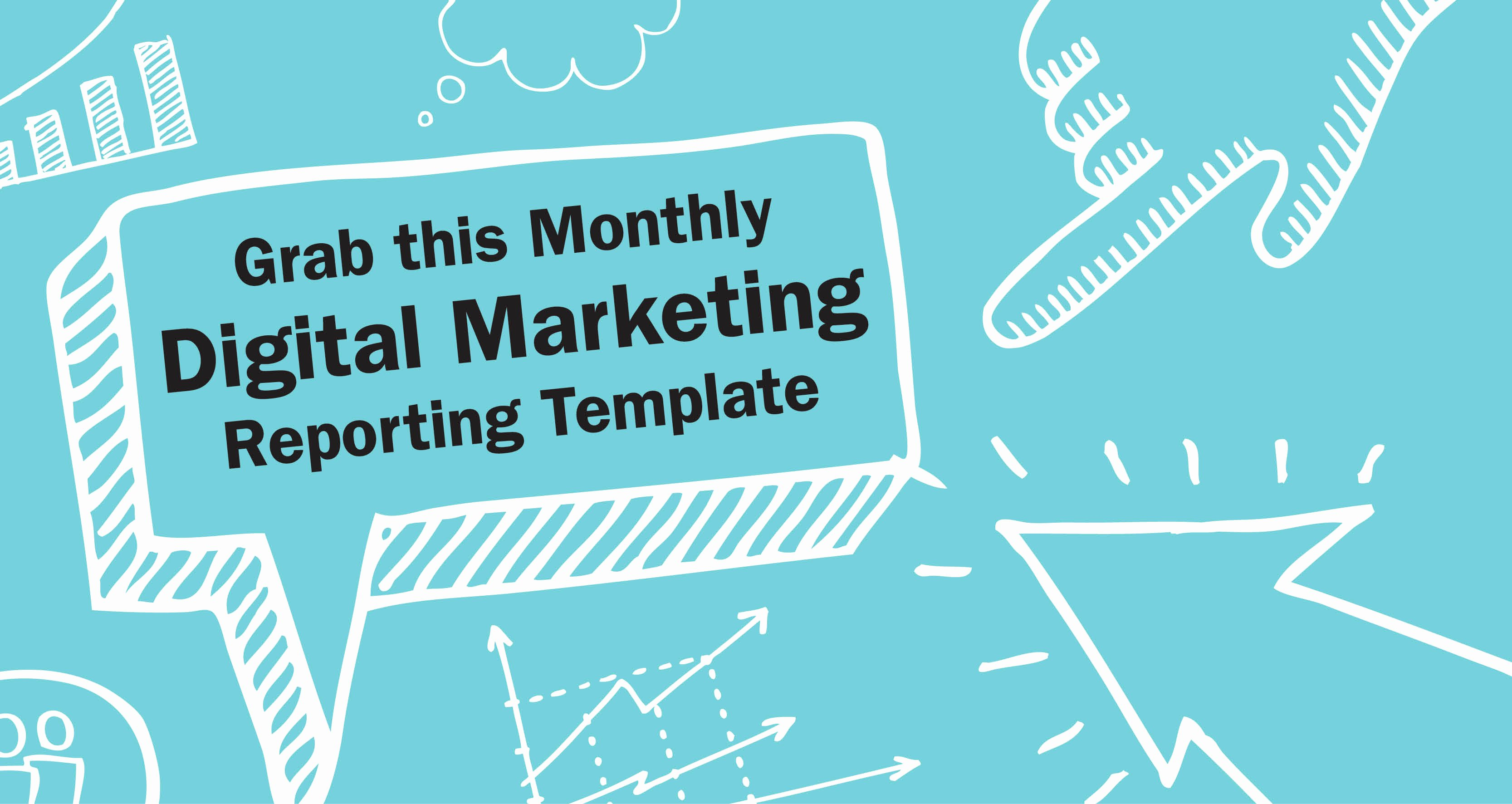Monthly Marketing Report Template Lovely Free Digital Marketing Report Template
