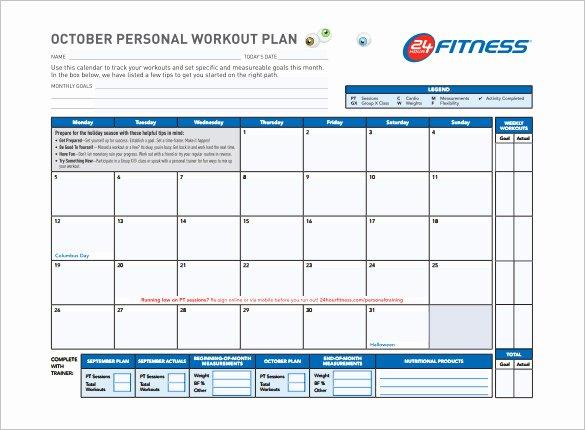 Monthly Workout Schedule Template New 22 Workout Schedule Templates Pdf Doc