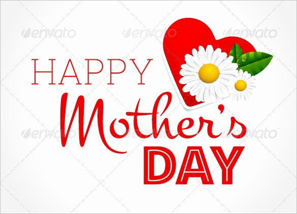 Mothers Day Cards Template Awesome 23 Mothers Day Card Templates