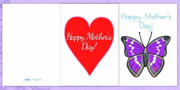 Mothers Day Cards Template Awesome Mothers Day Card Templates Mothers Day Card Card Template