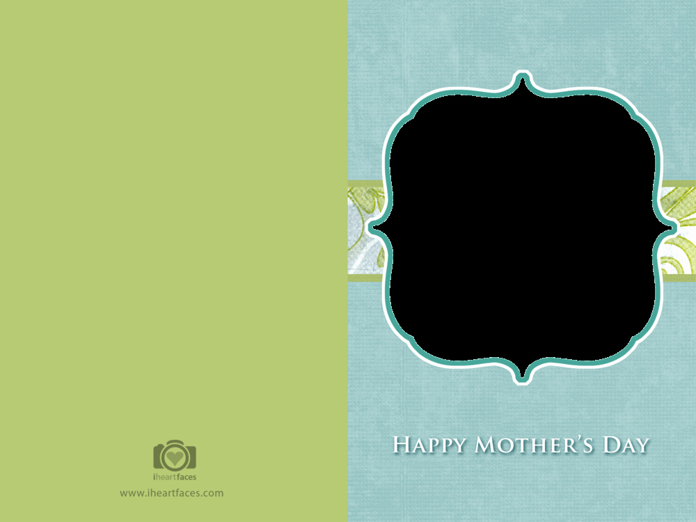 Mothers Day Cards Template Elegant Free Mother S Day Card Templates — Iheartfaces