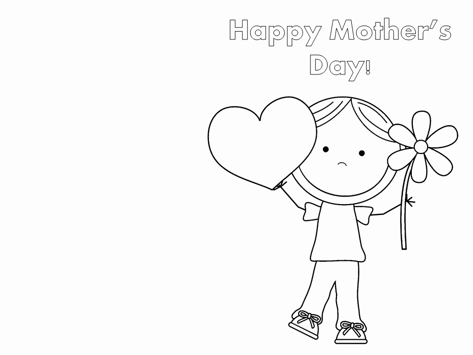 Mothers Day Cards Template Elegant Mother S Day Printable Cards