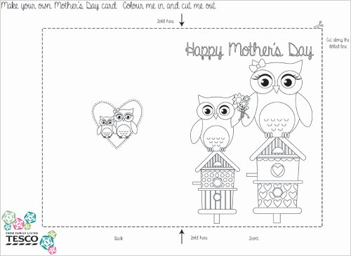 Mothers Day Cards Template Unique My Owl Barn 2015 04 26