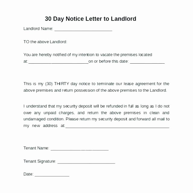 Move Out Letter Template Inspirational Day Notice Move Out Letter Infinite Moving Elemental