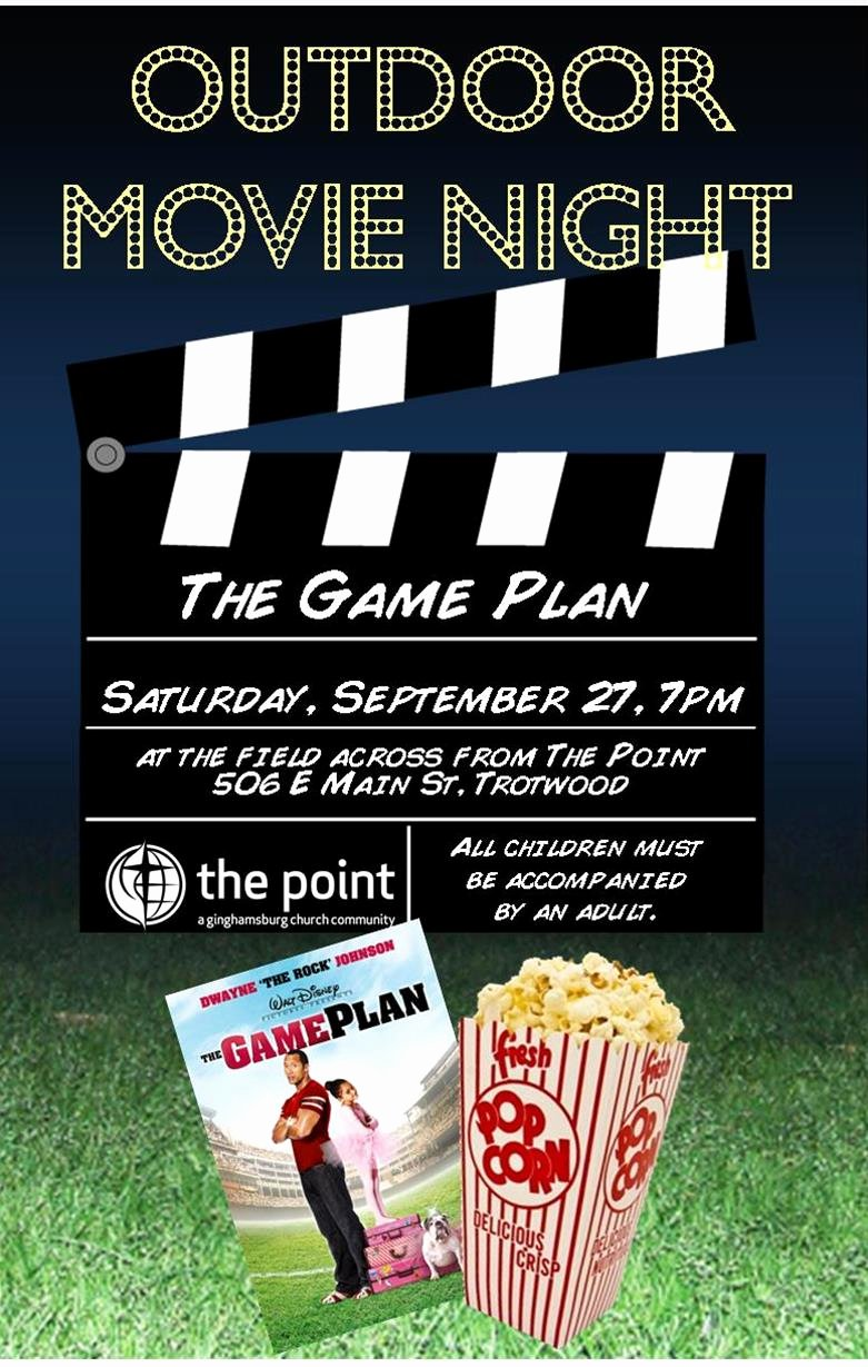 Movie Night Flyer Template New the Point S Action Packed Weekend Rosario Picardo