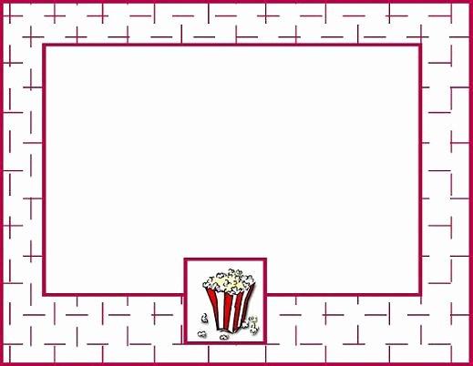 Movie Night Invitation Template Beautiful 7 Best Of Printable Movie Night Flyer Template