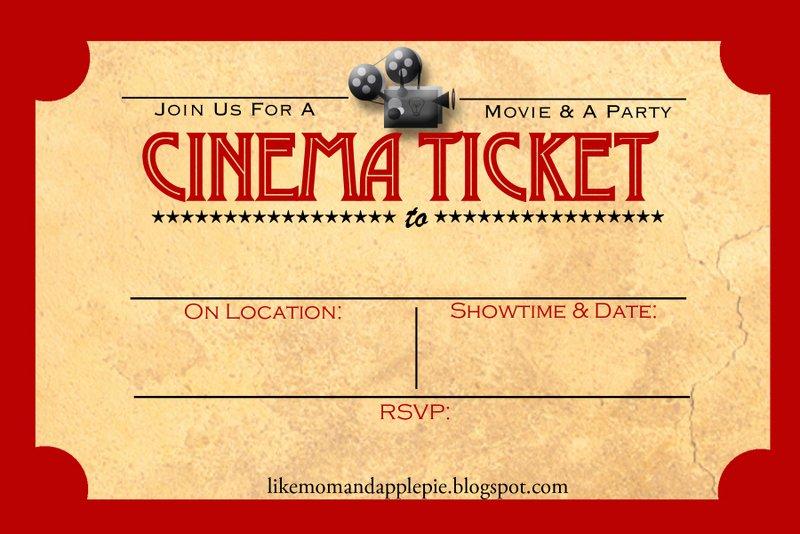 Movie Night Invite Template Awesome Favorite Movie Night Party Ideas Decor to Adore