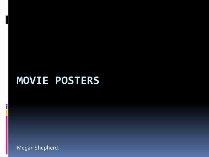 Movie Poster Credits Template Elegant Movie Posters Powerpoint