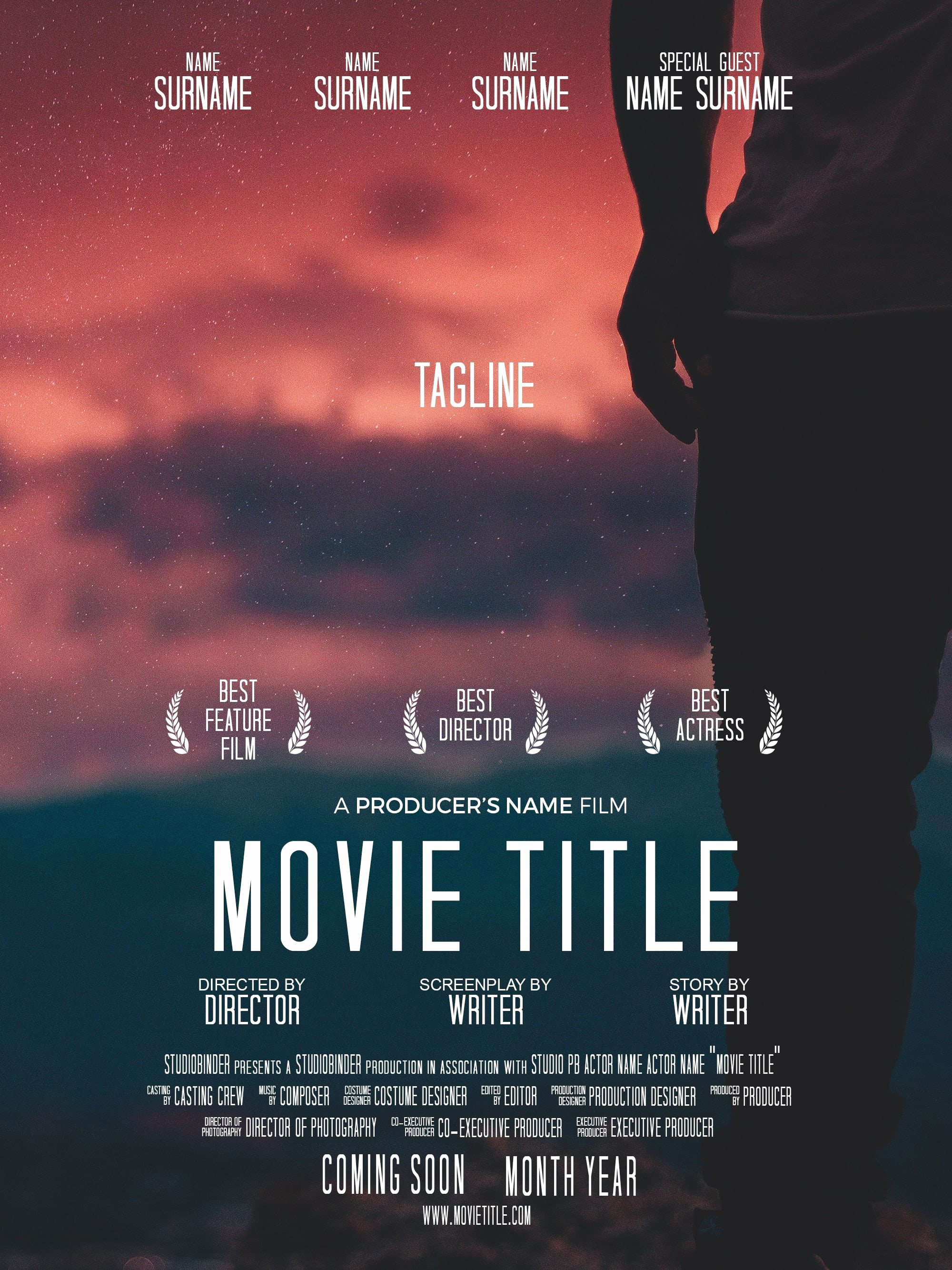 Movie Poster Template Photoshop New How to Make A Movie Poster [free Movie Poster Credits