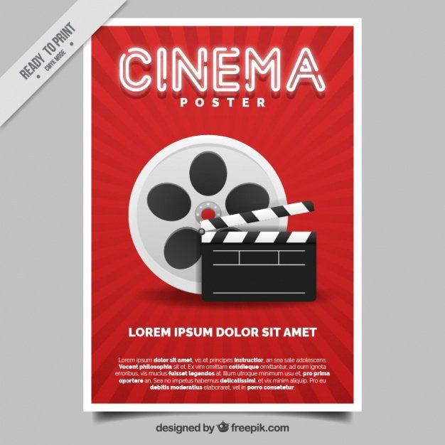 Movie Poster Template Psd Lovely Movie Poster Vector