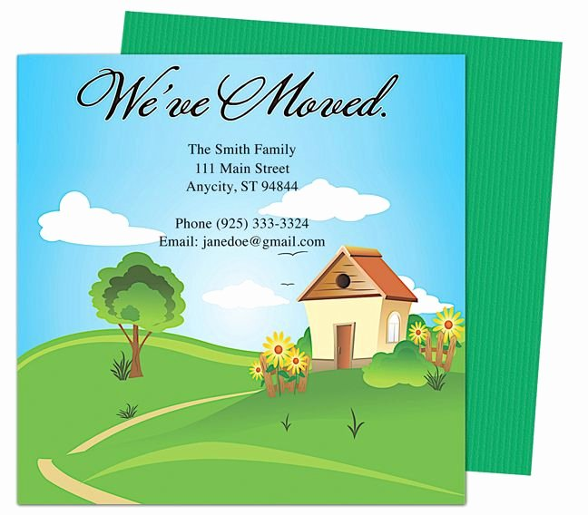 Moving Announcement Template Word Elegant 14 Best Images About Moving Announcements New Address