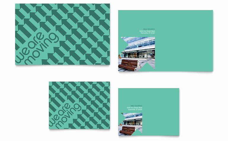 Moving Announcement Template Word Elegant Fice Moving Note Card Template Word & Publisher