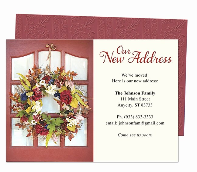 Moving Announcement Template Word Fresh 14 Best Images About Moving Announcements New Address