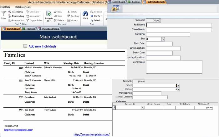 Ms Access 2007 Template Luxury Microsoft Access 2007 Templates In Access Database