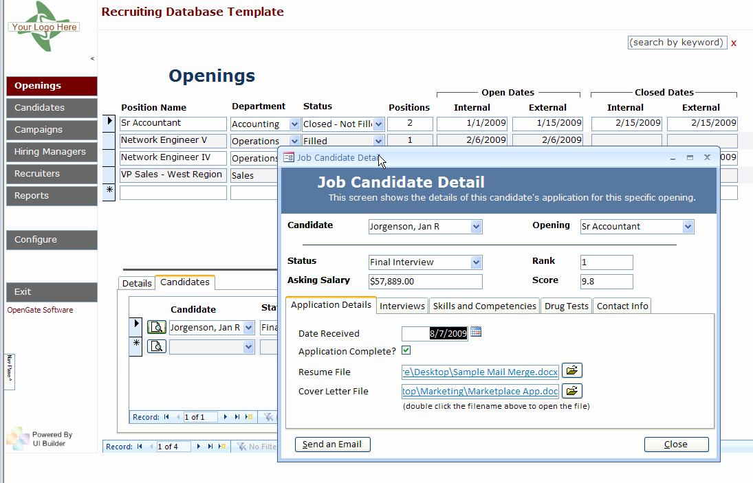 Ms Access Calendar Template Unique Access Database Templates