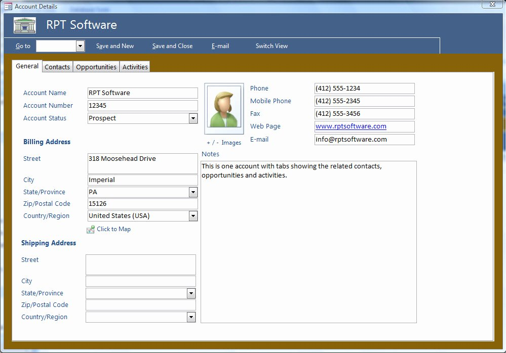 Ms Access Crm Template Fresh Microsoft Access Templates