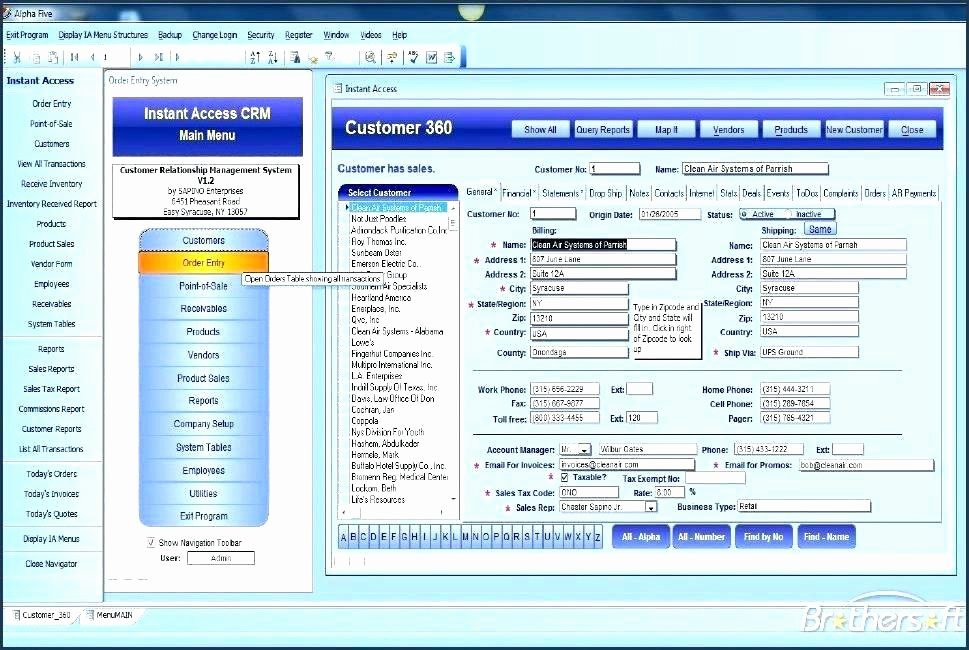 Ms Access Crm Template Inspirational Access Crm Database Template Excel Customer Free Download