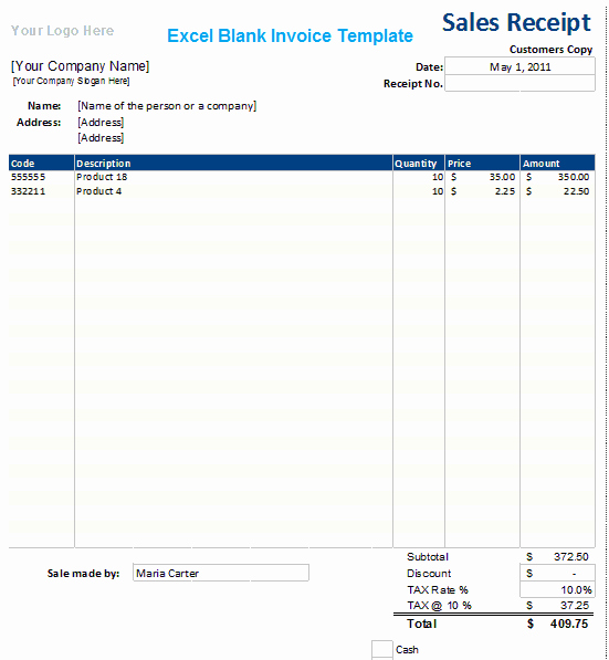 Ms Access Invoice Template Awesome Ms Excel Blank Invoice Template Xls