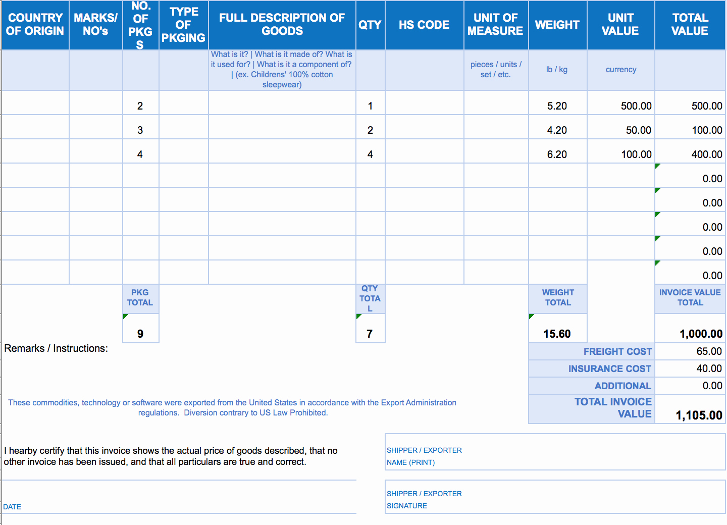 Ms Access Invoice Template Elegant Free Excel Invoice Templates Smartsheet