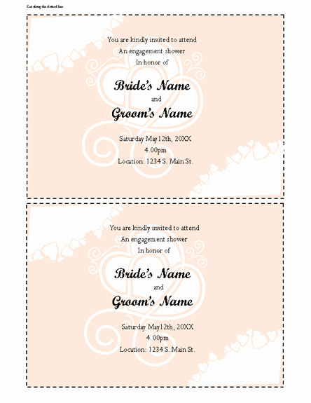 Ms Office Invitation Template Inspirational Fice Baby Shower Invitation Templates