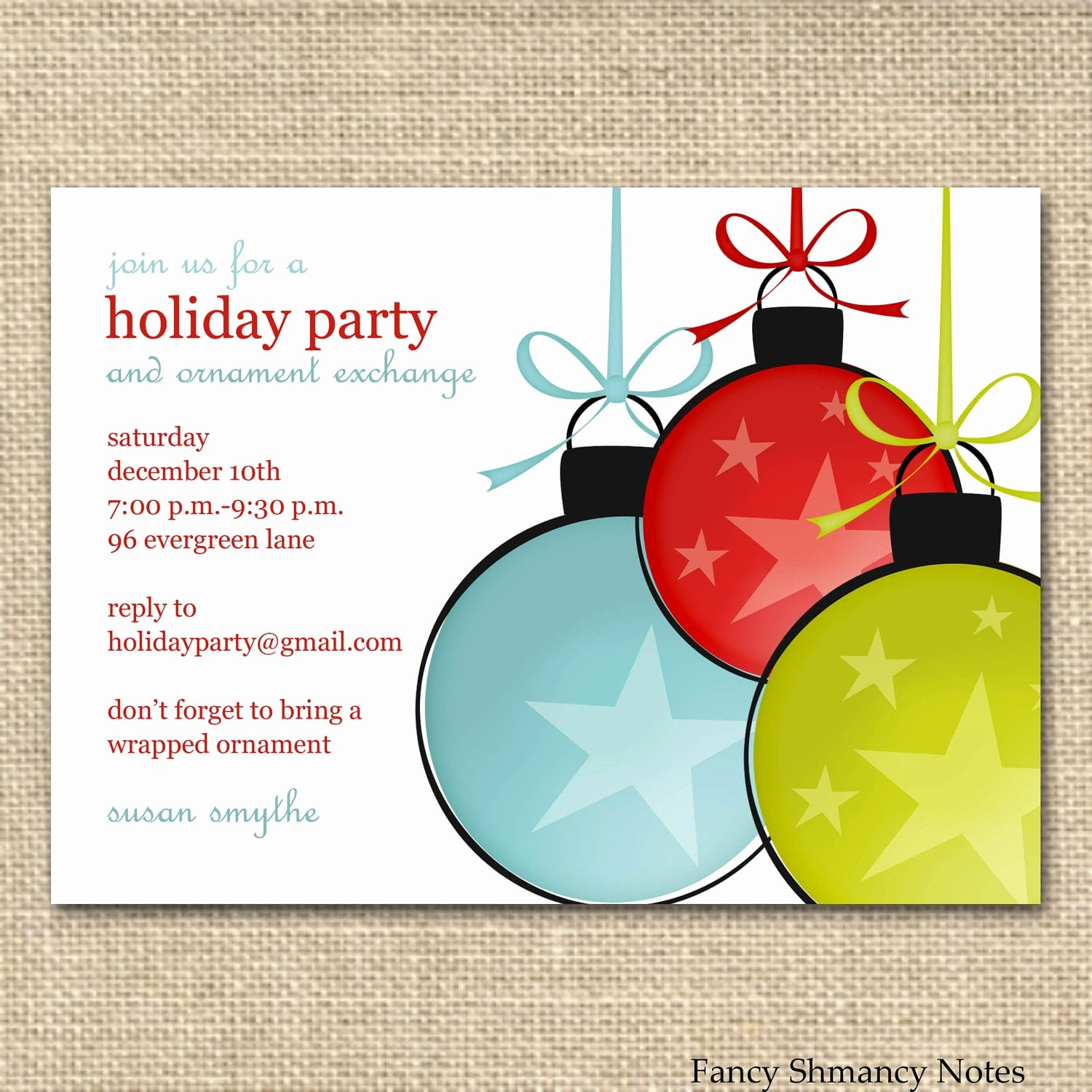 Ms Office Invitation Template Inspirational Free Printable Fice Christmas Party Invitations