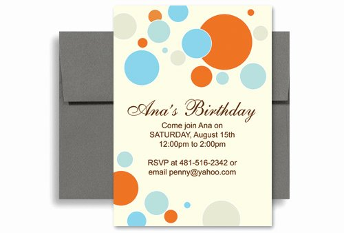 Ms Office Invitation Template Lovely Bright Colorful Kids Microsoft Word Birthday Invitation