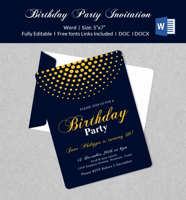 Ms Office Invitation Template Unique 50 Microsoft Invitation Templates Free Samples