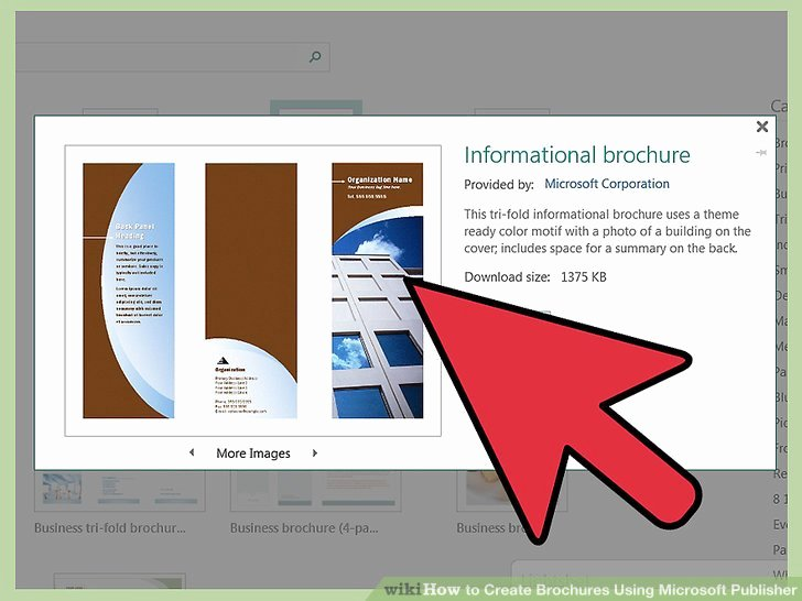 Ms Publisher Booklet Template Beautiful How to Create Brochures Using Microsoft Publisher 11 Steps
