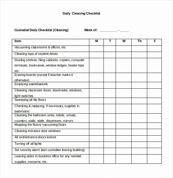 Ms Word Check Template Lovely 30 Word Checklist Template Examples In Word