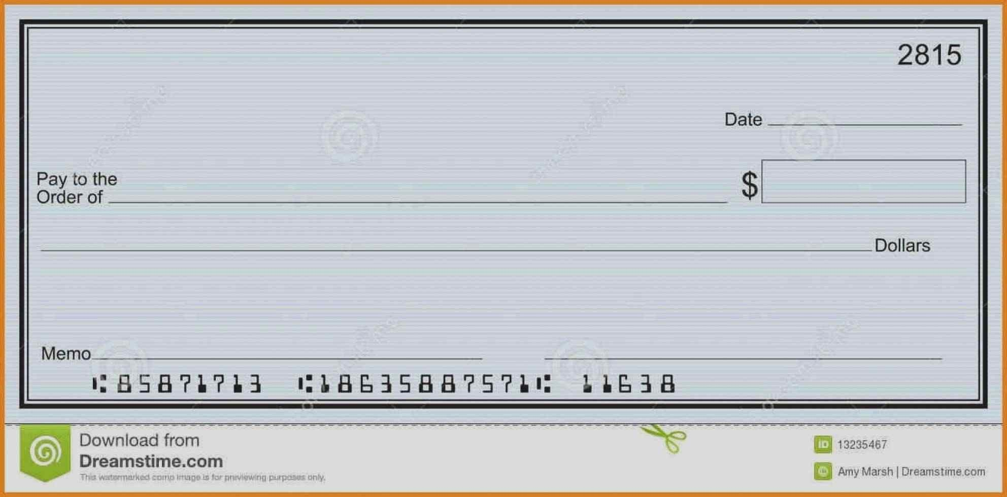 Ms Word Check Template Lovely Blank Check Template Valid 52 Fresh Blank Check Templates