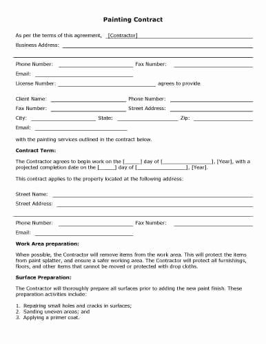 Ms Word Contract Template Awesome 32 Sample Contract Templates In Microsoft Word