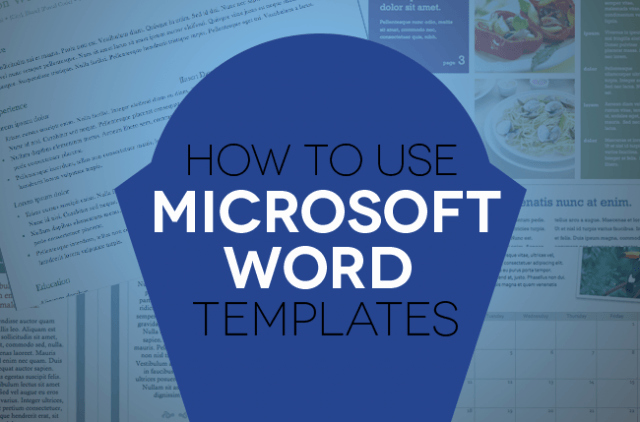 Ms Word form Template Fresh How to Use Document Templates In Microsoft Word