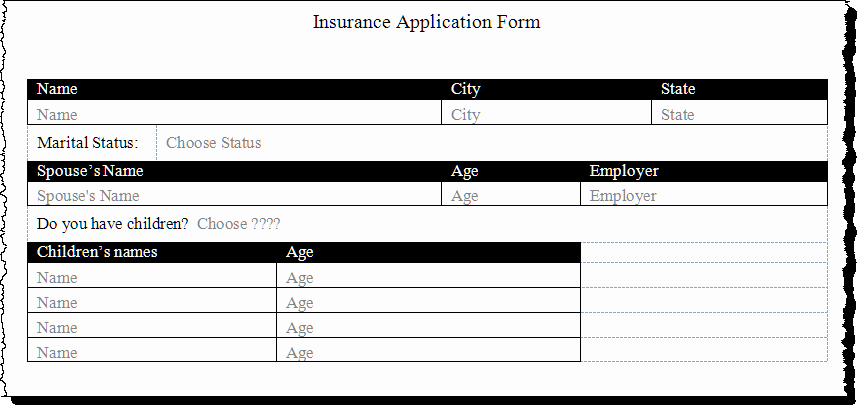 Ms Word form Template New Create A form Using Word Content Controls