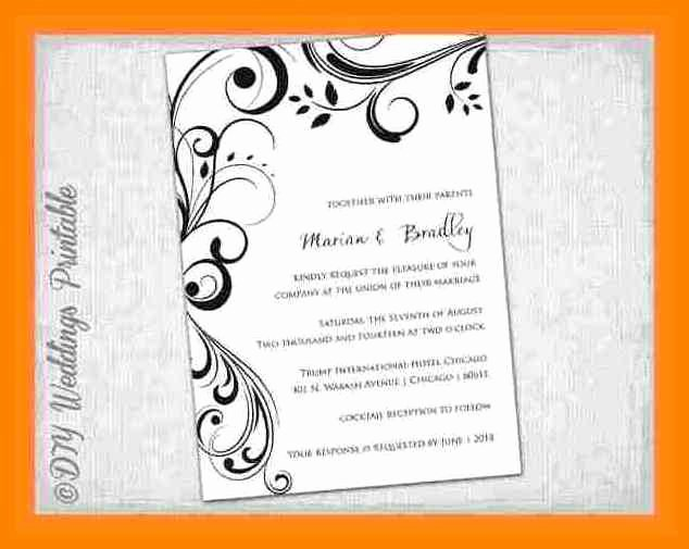 Ms Word Invitation Template Best Of 15 Blank Invitation Templates for Microsoft Word