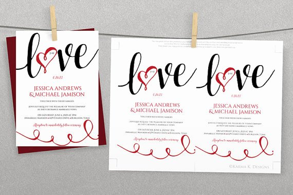 Ms Word Invitation Template Best Of Diy Wedding Invitation Template Download Instantly
