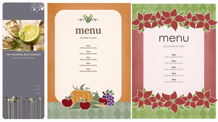 Ms Word Menu Template Luxury Menu Templates Microsoft Word Microsoft Office Menu