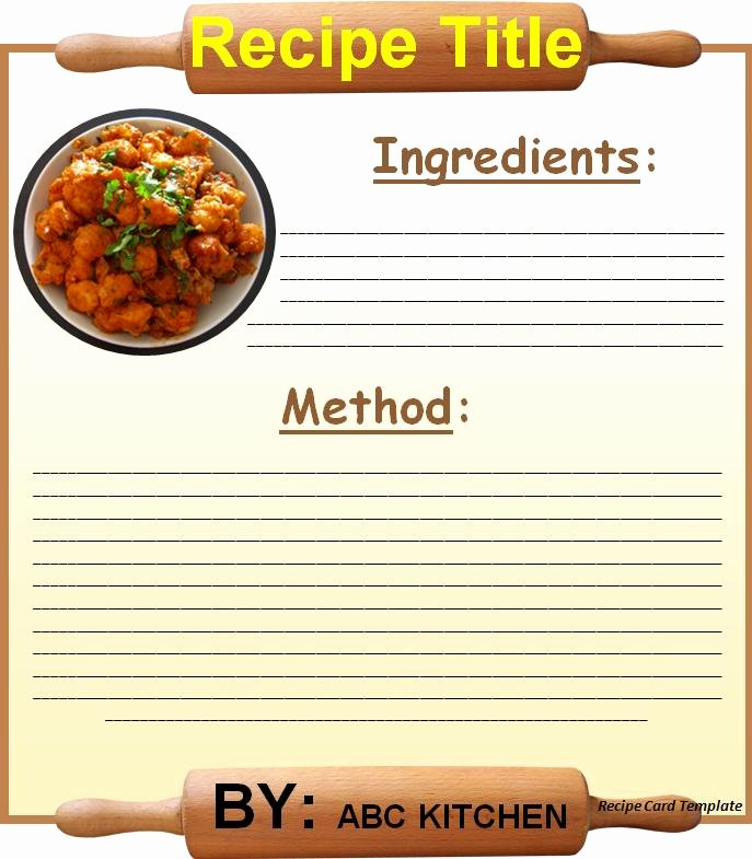 Ms Word Recipe Template Best Of Recipe Card Template for Word Beepmunk