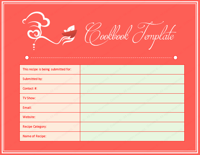 Ms Word Recipe Template New Microsoft Recipe Book Template Templates Data
