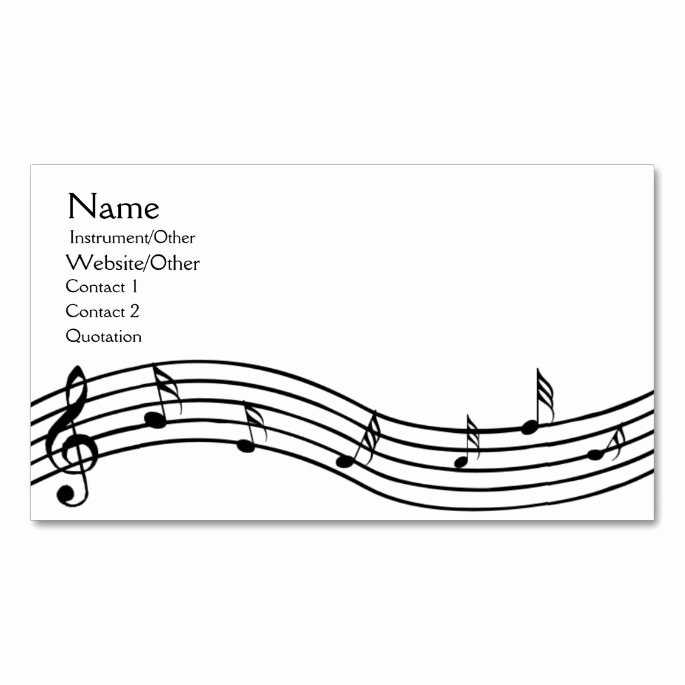 Music Business Cards Template Best Of 2150 Best Music Business Card Templates Images On
