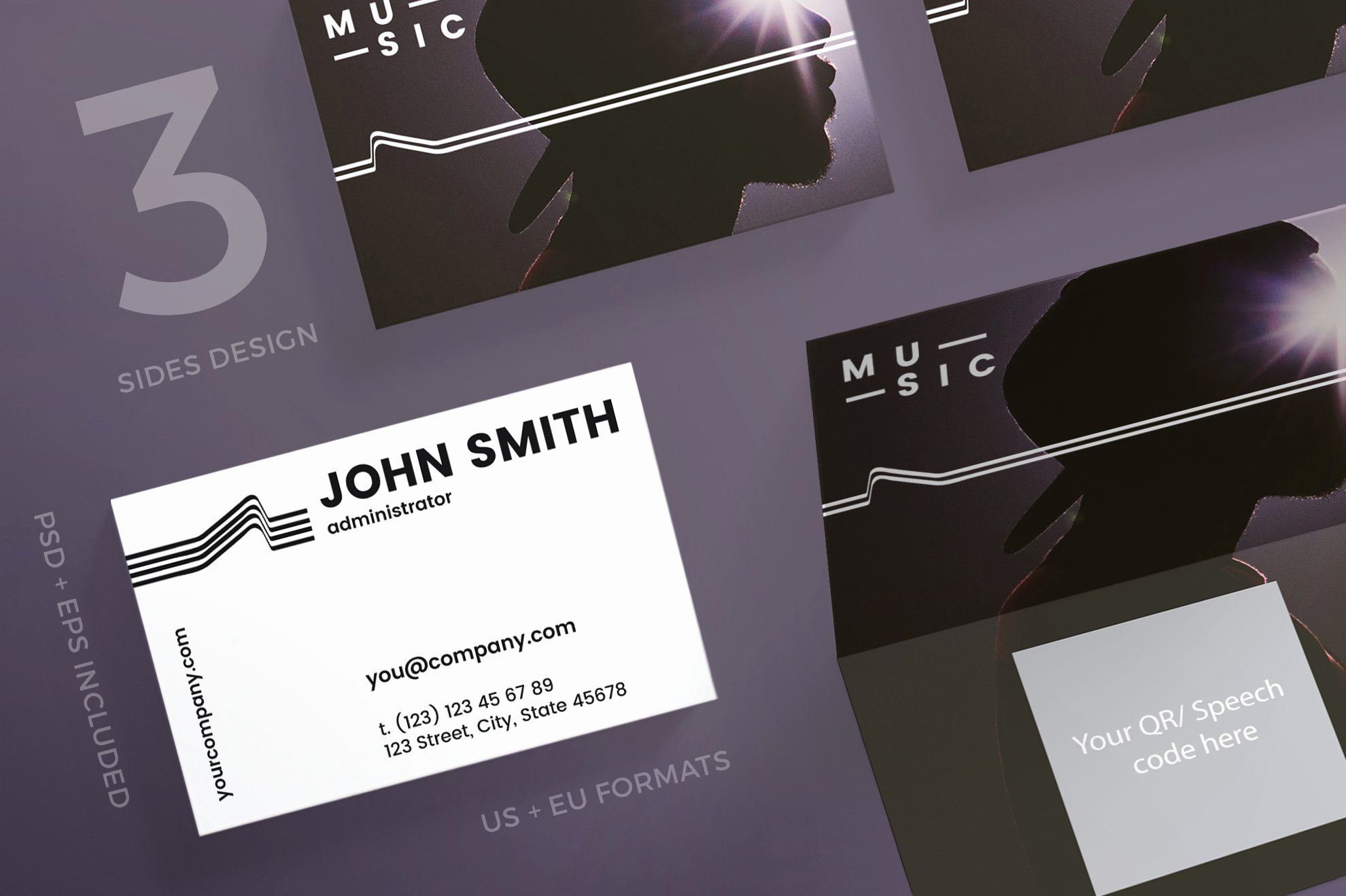 Music Business Cards Template Lovely Business Cards