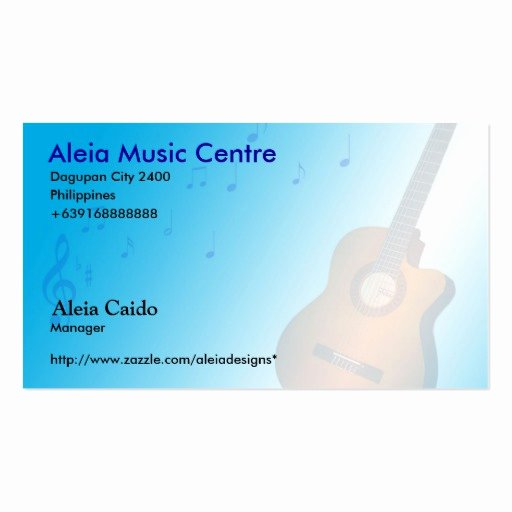 Music Business Cards Template Lovely Music Business Card Templates