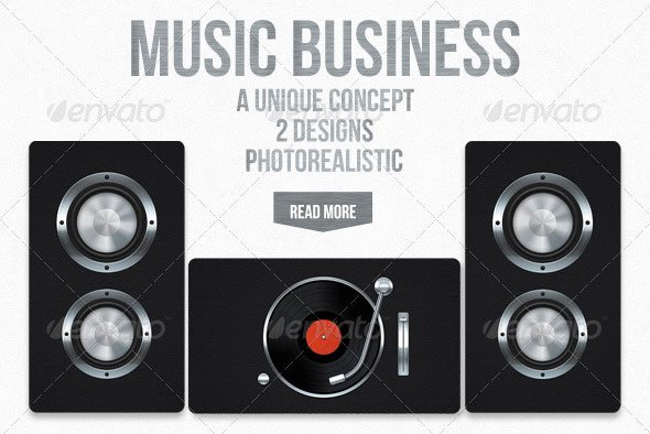 Music Business Cards Template Luxury 20 Creative Business Card Templates that Help You Stand