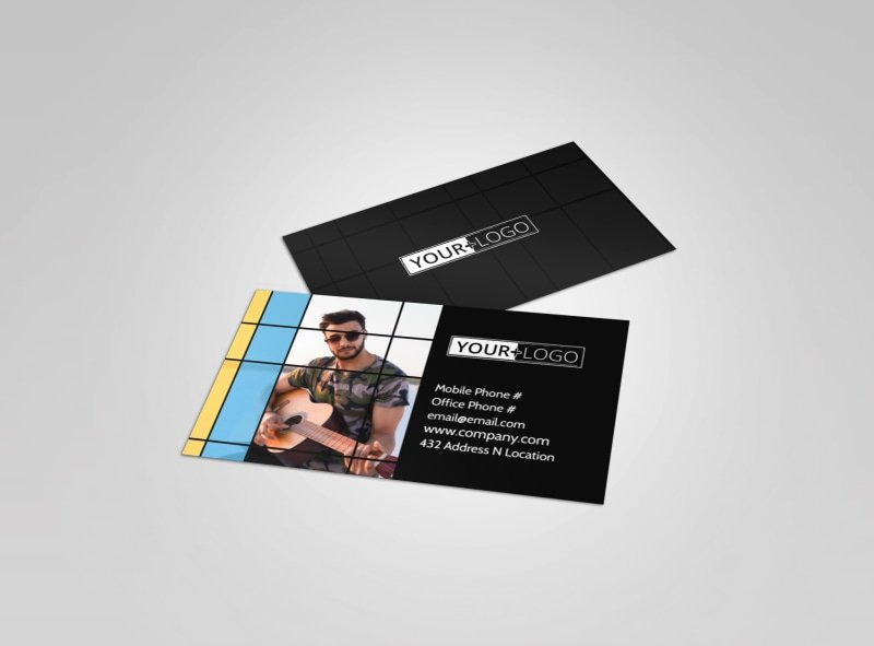 Music Business Cards Template Luxury Music & Arts Templates