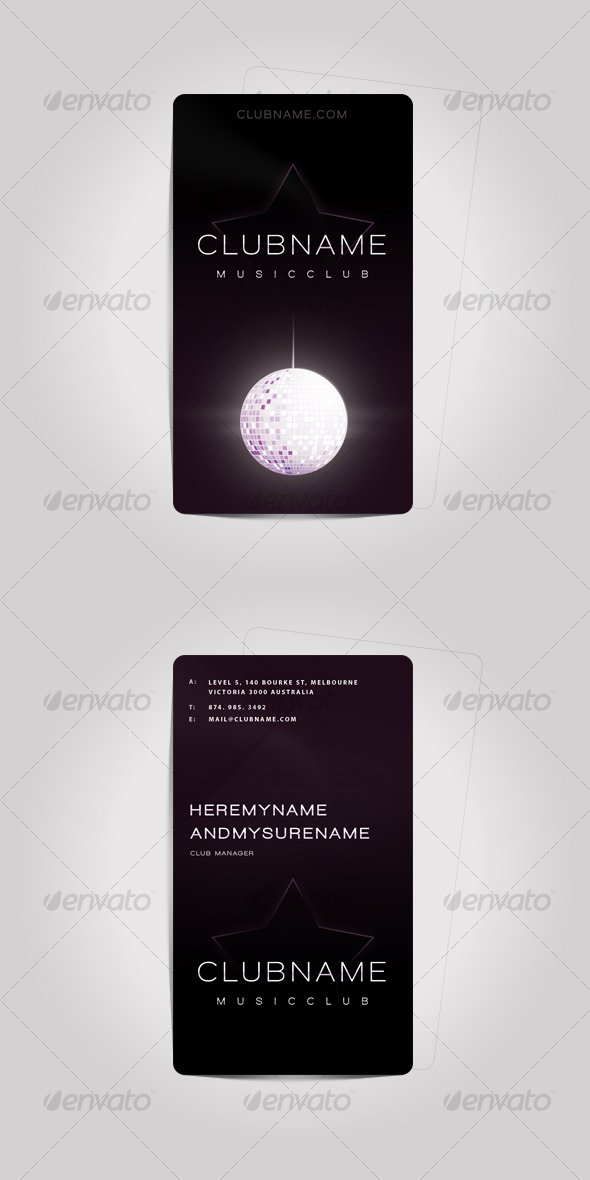 Music Business Cards Template New 60 Free & Premium Psd Business Card Template